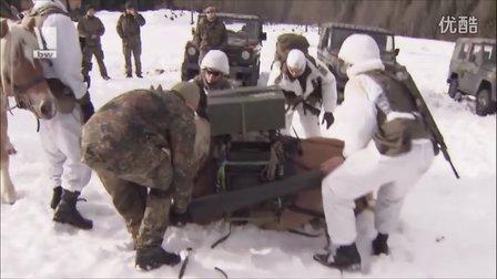 联邦德国陆军联合火力支援组阿尔卑斯山地训练