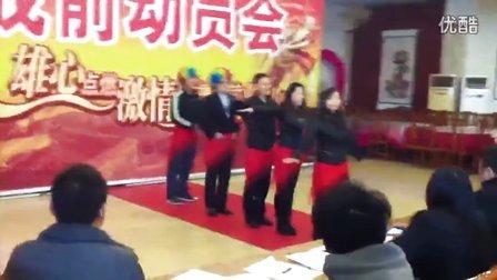青岛一木门滨州店团队创意展示!