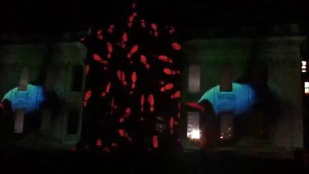 剑桥大学800周年校庆light show