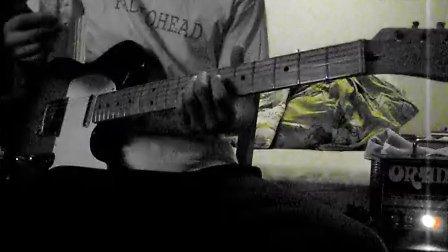 GLAMOROUS SKY(guitar cover)