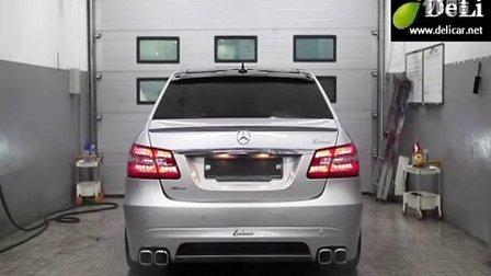 大连汽车改装奔驰W212Lorinser 排气劳伦士大连地区代理