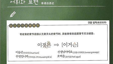 """跟李准基一起学习""""你好,韩国语"""" 第二课 披萨老师"""