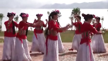云南省宁蒗彝族自治县 民族团结舞(下)
