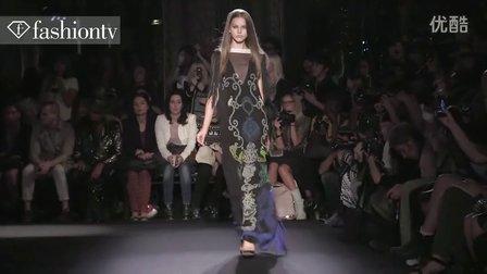 时装周-因格瑞德·瓦索夫(Ingrid Vlasov)走道秀-巴黎2012春季时装周