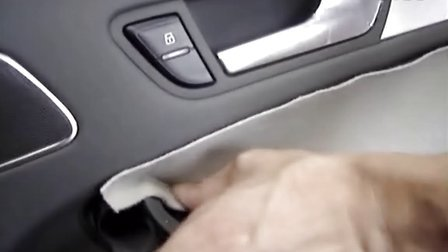 汽车门板安装过程图【奥迪A4L】