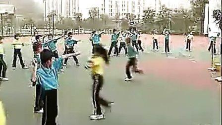 轻物投准全国中小学及西南地区体育教学观摩活动优质课参评课