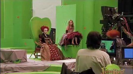 万德兰 爱丽丝梦游仙境幕后拍摄