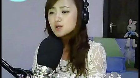 【雨轩mv】 美女翻唱:《落花》,纯纯点点的歌