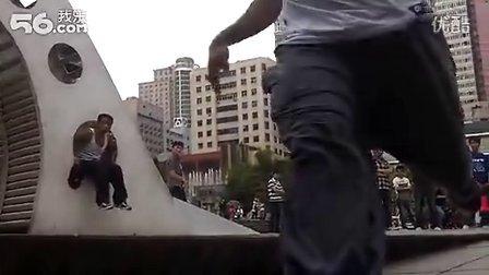 贵州Seven跑酷团队训练视频(后面献给吴有松)