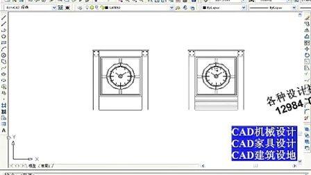 深圳宝安沙井CAD培训 CAD视频教程 CAD建筑设计 钟楼设计.