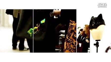 伦敦时装周 Justin Smith选用欧缔兰创造系列服装