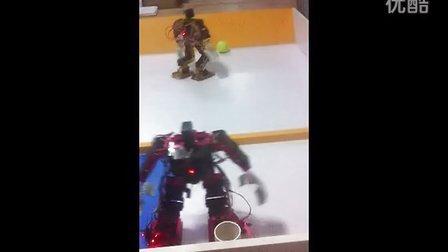 机器人手动自动配合