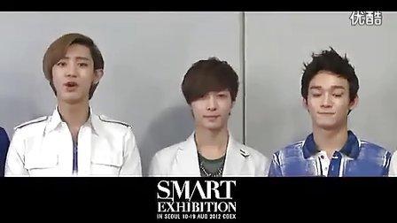 【乐器求职www.mijob.com.cn】【EXO-K资讯台】120726 EXO S.M.ART Exhibition