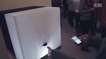 瑞典于默奥大学交互学院学生作品《发Tweet送饼干》