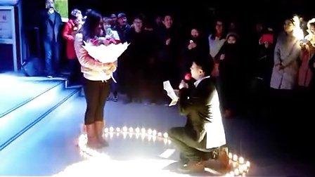 情人节绅士求婚