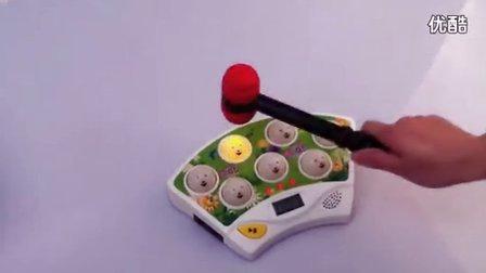 五星玩具贝乐星37228A打地鼠游戏机音乐闪光计数益智玩
