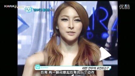【韩语中字】120823 Mnet Wide News KARA