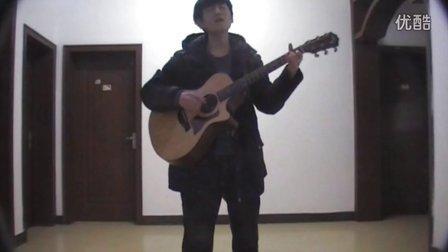 吉他弹唱 蔡盛  残酷月光