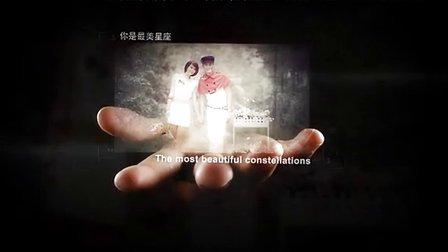 爱不释手唯美婚礼开场预告视频制作浪漫温馨婚纱MV