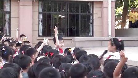 20120917青岛嘉峪关学校升旗仪式