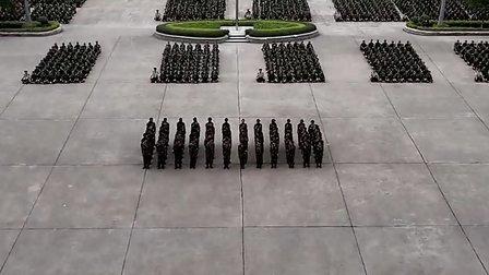 广东工业大学华立学院2012新生军训阅兵暨总结表彰大会0