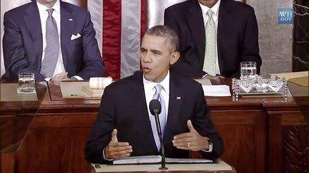 奥巴马2014年国情咨文 HD