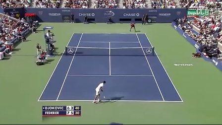 2011美网半决赛 德约科维奇 VS 费德勒