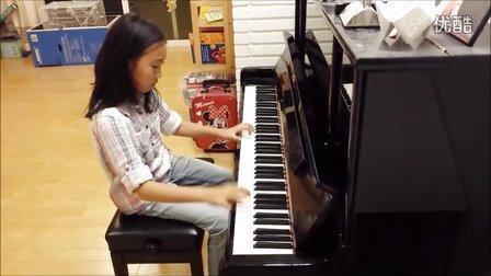 Grace Liu - 钢琴演奏 牧童短笛