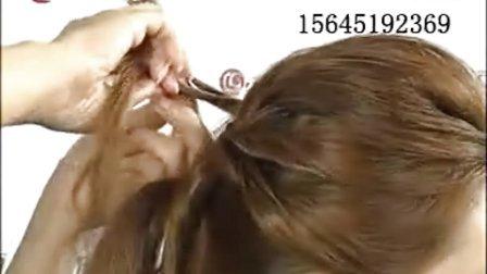 今年最流行的发型 盘发视频  女士中长发盘发 基础盘发大全
