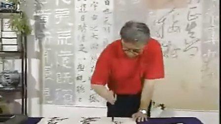 第33集当代书法名家视频——魏哲(临张瑞图草书诗轴)