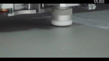 投影布切割