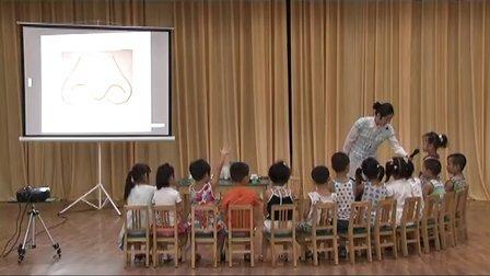 幼儿园优质课视频中班综合《有趣的鼻子》吴佳瑛幼儿园名师公开课示范课