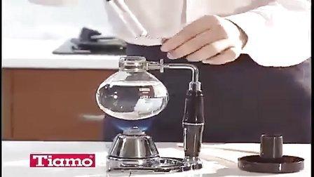虹吸式咖啡壶的使用