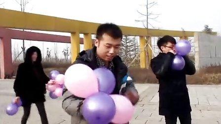 好兄弟张龙情人节向女友求婚,大家快来祝福吧!