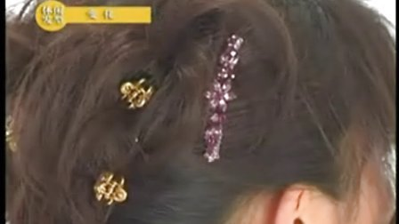 韩式盘发发型 流行美盘发培训