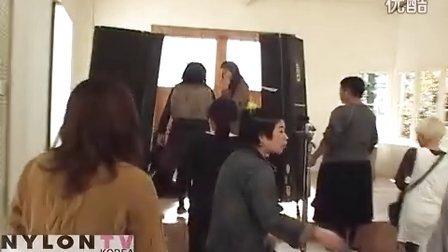 【AoiYu】《NYLON》杂志拍摄花絮:裴斗娜&蒼井優