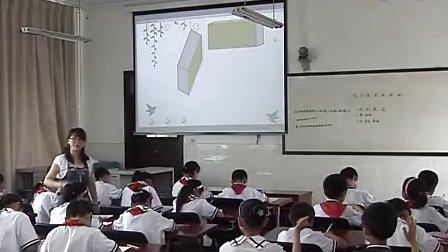 四年级数学北师大版-《长方体的表面积》课堂实录与教师说课