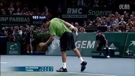 2008巴黎大师赛Tsonga v.s. Nalbandian 决赛经典回顾