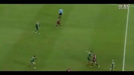 2014.2.15 德甲 奥格斯堡 1:0 纽伦堡 清武弘嗣触球集锦