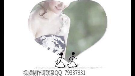 赠品唯美婚纱相册 婚礼预告片 温馨婚礼开场片头 个性婚礼开场mv