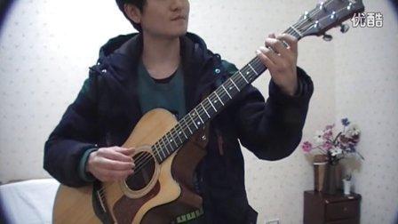 吉他弹唱 蔡盛  忽然之间