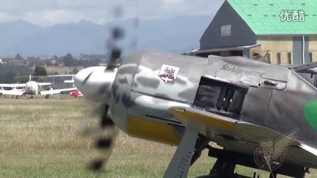 复刻FW190  ASh-82发动机地面试车