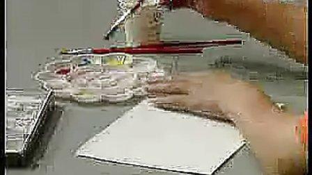 小学三年級美術優質課展示《三原色三间色》苏少版