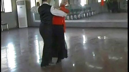 交谊舞:比赛规范套路·慢四教学片·朱丽萍示范 高清