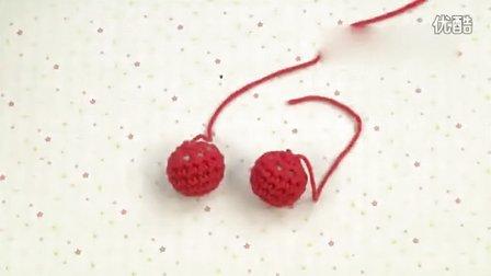 【钩针编织花样图解】钩针植物篇之樱桃