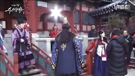 帝王的女儿守百香第91集拍摄花絮