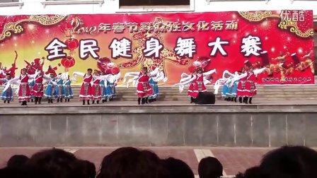 皋兰县魏家庄广场舞《心的圣洁》