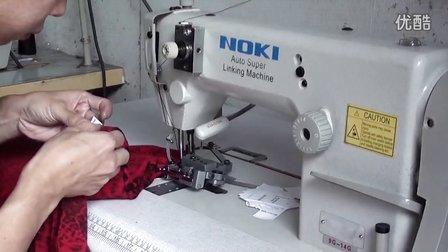 路奇毛衫高速缝合技术-能把商标一起缝合上