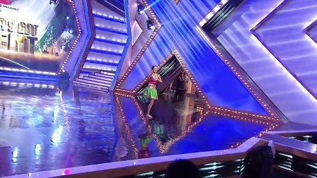【荐】印度单腿美女-跳出激情人生-印度达人秀14年1月第五季