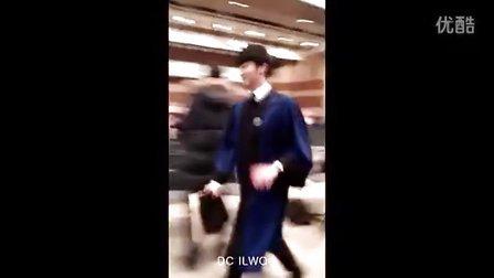 丁一宇20140220汉阳大学毕业典礼饭拍